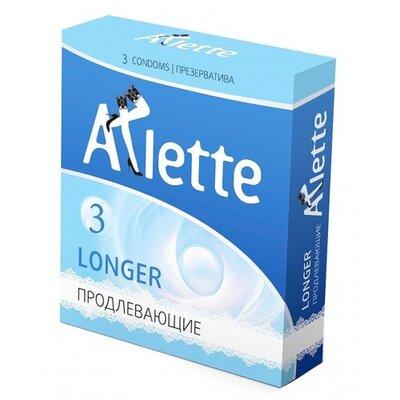 Продлевающие презервативы Arlette Super Longer (3 шт)