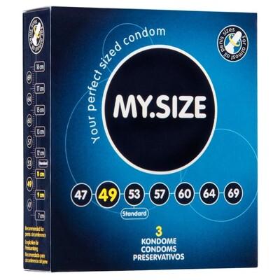 Презервативы My.Size размер 49 (3 шт)
