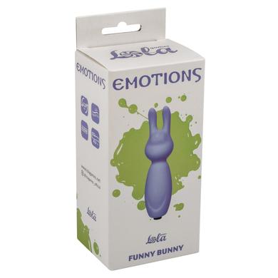 Вибропуля фиолетовая Emotions Funny Bunny