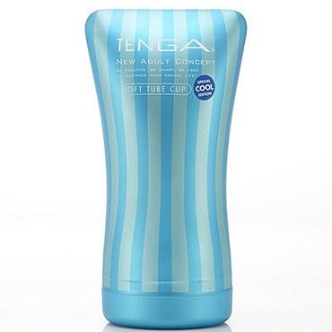 Мастурбатор Tenga Soft Tube Cool с охлаждающим эффектом (ОРИГИНАЛ)