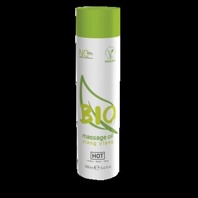 Массажное масло HOT BIO Massage с ароматом иланг иланга (100 мл)