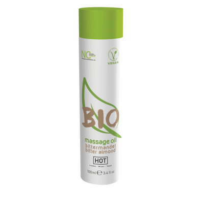 Массажное масло HOT BIO Massage с ароматом миндаля (100 мл)