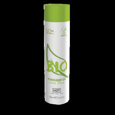 Массажное масло HOT BIO Massage с ароматом алоэ веры (100 мл)