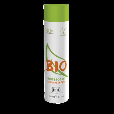 Массажное масло HOT BIO Massage oil с кайенским перцом (100 мл)