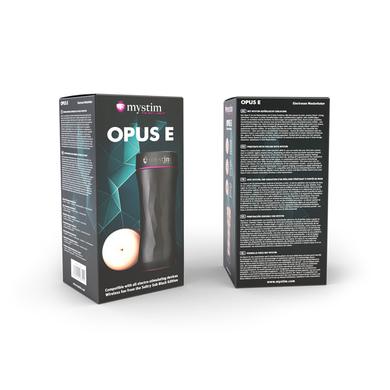 Мастурбатор-попка с электростимуляцией Mystim Opus E Donut
