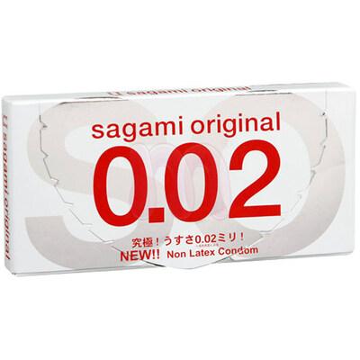 Полиуретановые презервативы Sagami Original 0,02 (2 шт)