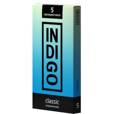 Презервативы Indigo Classic классические (5 шт)