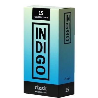 Презервативы Indigo Classic классические (15 шт)