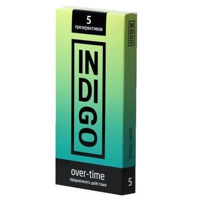 Презервативы Indigo Over-time продленного действия (5 шт)
