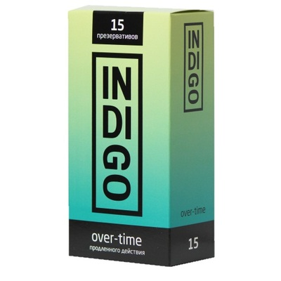 Презервативы Indigo Over-time продленного действия (15 шт)