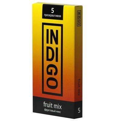 Презервативы Indigo Fruit mix фруктовый микс (5 шт)