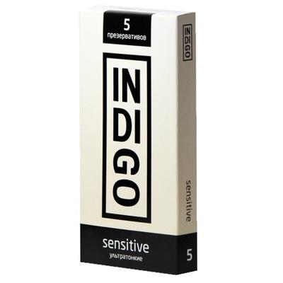 Презервативы Indigo Sensitive ультратонкие (5 шт)