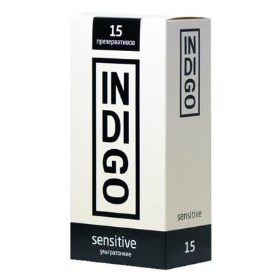 Презервативы Indigo Sensitive ультратонкие (15 шт)