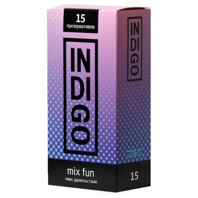 Презервативы Indigo Mix Fun микс удовольствий (15 шт)