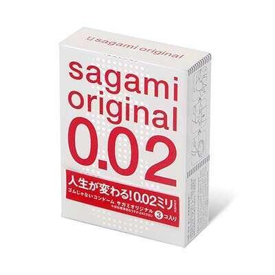 Полиуретановые презервативы Sagami Original 0,02 (3 шт)