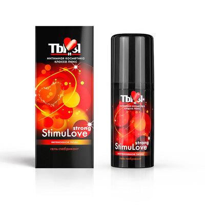 Любрикант с согревающим эффектом Stimulove Strong (20 мл)
