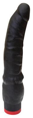 Вибратор реалистик черный L 193 мм D 35 мм