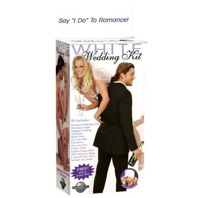 Набор секс игрушек White Wedding Kit