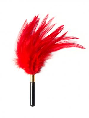 Тиклер красный Burlesque Plume