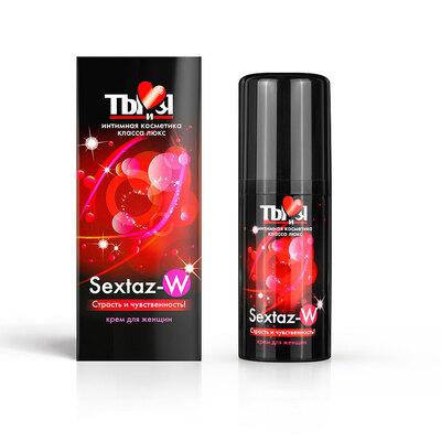 Крем для женщин Sextaz-W с согревающим эффектом (20 мл)