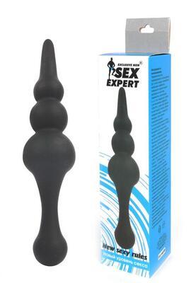 """Анальный стимулятор в форме елочки """"Sex Expert"""""""