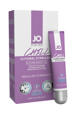 Стимулирующий гель для клитора охлаждающий JO Chill (10 мл)
