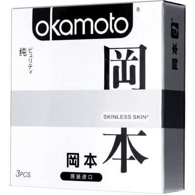 Презервативы OKAMOTO SKINLESS SKIN PURITY классические (3 шт)