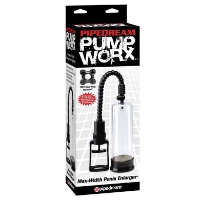 Вакуумная помпа для пениса Pump Worx Max-Width Penis Enlarger