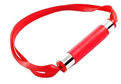 Красный кляп из латекса