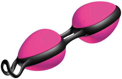 Вагинальные шарики со смещенным центром тяжести JoyDivision Joyballs secret розовые