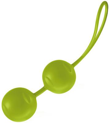 Вагинальные шарики со смещенным центром тяжести JoyDivision Joyballs Trend зеленые