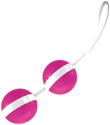 Вагинальные шарики со смещенным центром тяжести JoyDivision Joyballs Trend розово-былые