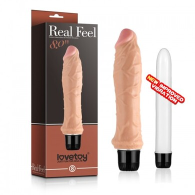 Реалистичный вибратор Real Feel 8in