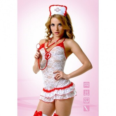 Костюм Медсестры кружевной L/XL