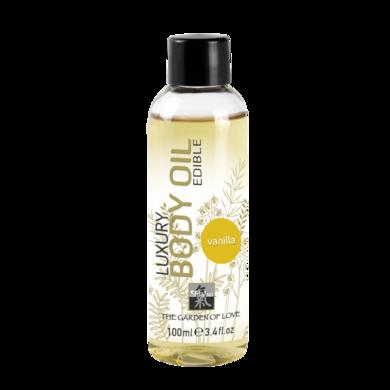 Съедобное масло Shiatsu с ароматом Ванили (100 мл)