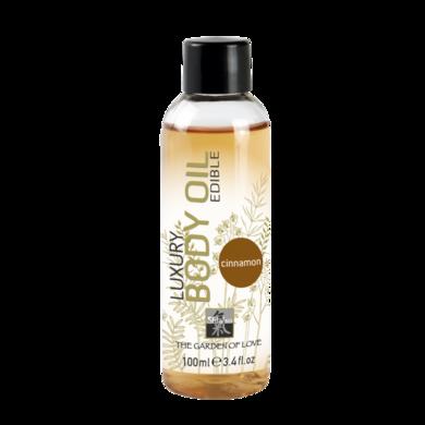Съедобное масло Shiatsu с ароматом Корицы (100 мл)