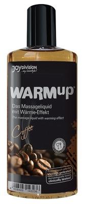 Съедобный разогревающий массажный гель JoyDivision WARMup со вкусом кофе (150 мл)