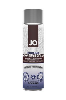 Лубрикант-гибрид водно-кокосовый с охлаждающим эффектом JO COCO-Hybrid Lubricant COOLING (COCO-HYBRID) 120 мл)