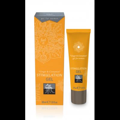 Стимулирующий гель для женщин Shiatsu Stimulation Gel Ginger & Cinnamon (30 мл)