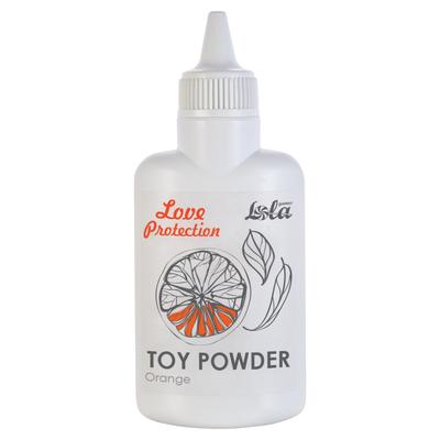 Пудра для игрушек Love Protection с ароматом апельсина (30 г)