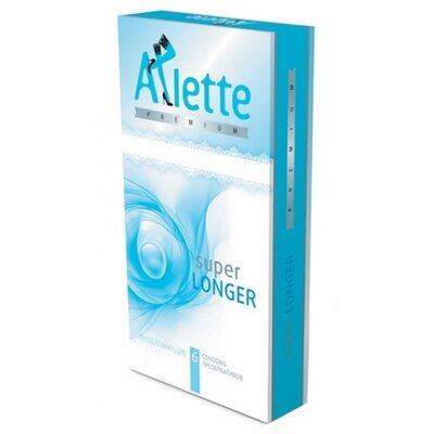 Продлевающие презервативы Arlette Premium Super Longer (6 шт)