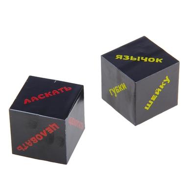 "Кубик ""Части тела"", 2 шт, 4х4х4 см"