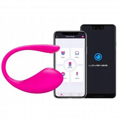 Виброяйцо Lovense Lush 3 с управлением от смартфона