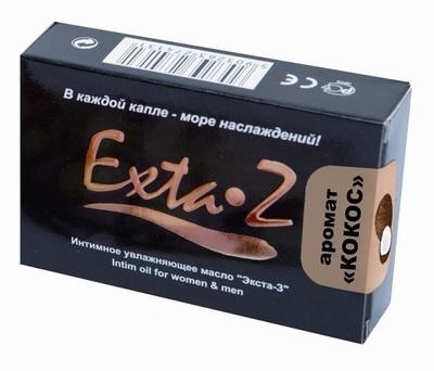 Интимное возбуждающее масло Exta-Z Кокос (1,5 мл)