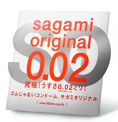 Полиуретановые презервативы Sagami Original 0,02 1 шт.