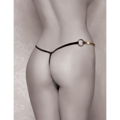 Вибротрусики FF Gold Vibrating Micro G-String Set