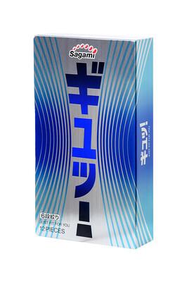 Латексные презервативы Sagami Xtreme 6 Fit-V (12 штук)