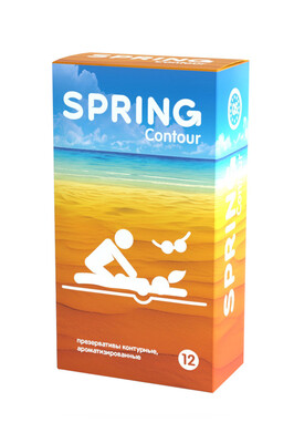 Презервативы контурные Spring Contuor (12 шт)