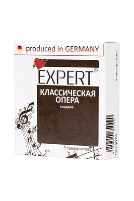Презервативы Expert ''Классическая опера'' №3 классические