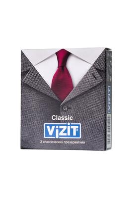 Презервативы латексные классические VIZIT Classic (3 шт)
